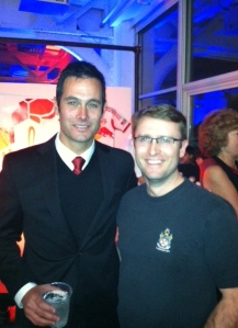 The new coach and I at the STH event.